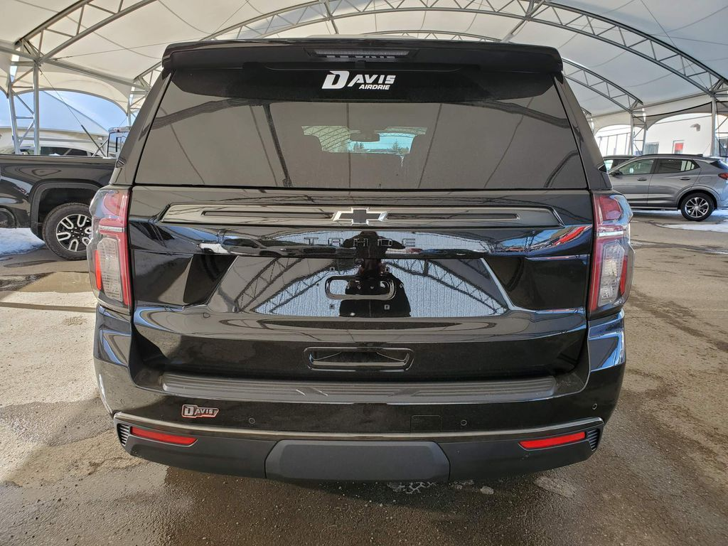 Black 2021 Chevrolet Tahoe Trunk / Cargo Area Photo in Airdrie AB
