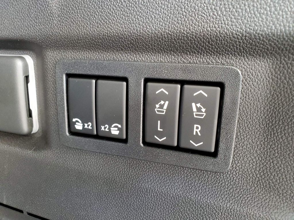 Black 2021 Chevrolet Tahoe Passenger Rear Door Controls Photo in Airdrie AB