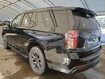 Black 2021 Chevrolet Tahoe Rear of Vehicle Photo in Airdrie AB