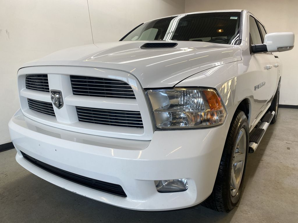 WHTIE 2011 Ram 1500 Sport - Heated/Cooled Font Seats, Power Front Seats Left Front Head Light / Bumper and Grill in Edmonton AB