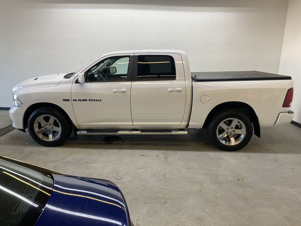 WHTIE 2011 Ram 1500 Sport - Heated/Cooled Font Seats, Power Front Seats Left Side Photo in Edmonton AB