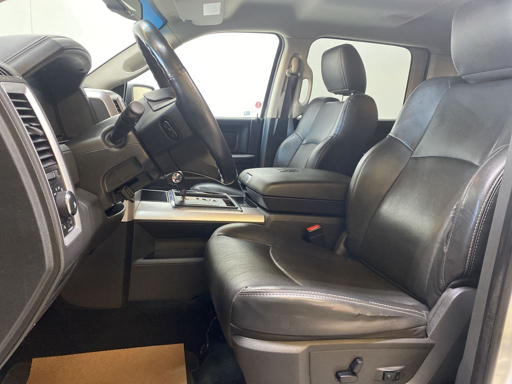 WHTIE 2011 Ram 1500 Sport - Heated/Cooled Font Seats, Power Front Seats Left Front Interior Photo in Edmonton AB