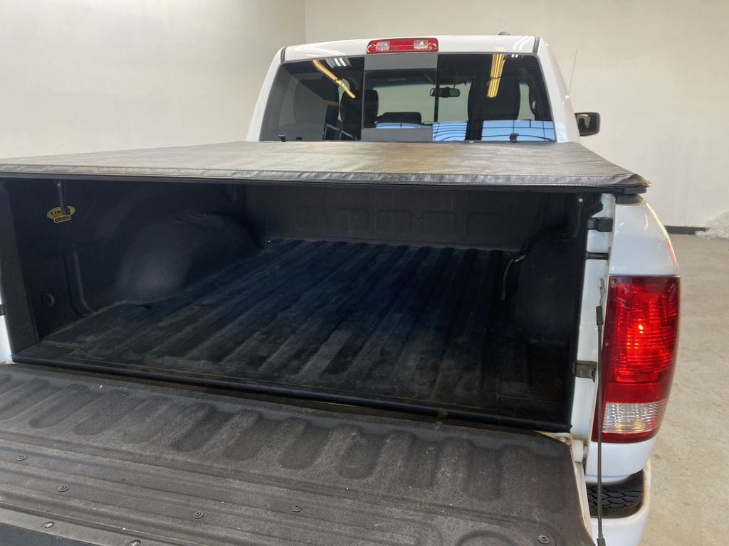 WHTIE 2011 Ram 1500 Sport - Heated/Cooled Font Seats, Power Front Seats Trunk / Cargo Area Photo in Edmonton AB