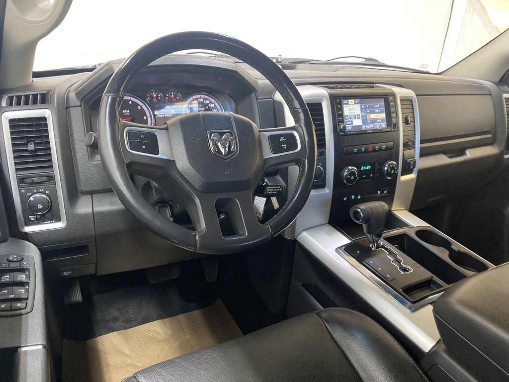 WHTIE 2011 Ram 1500 Sport - Heated/Cooled Font Seats, Power Front Seats Steering Wheel and Dash Photo in Edmonton AB