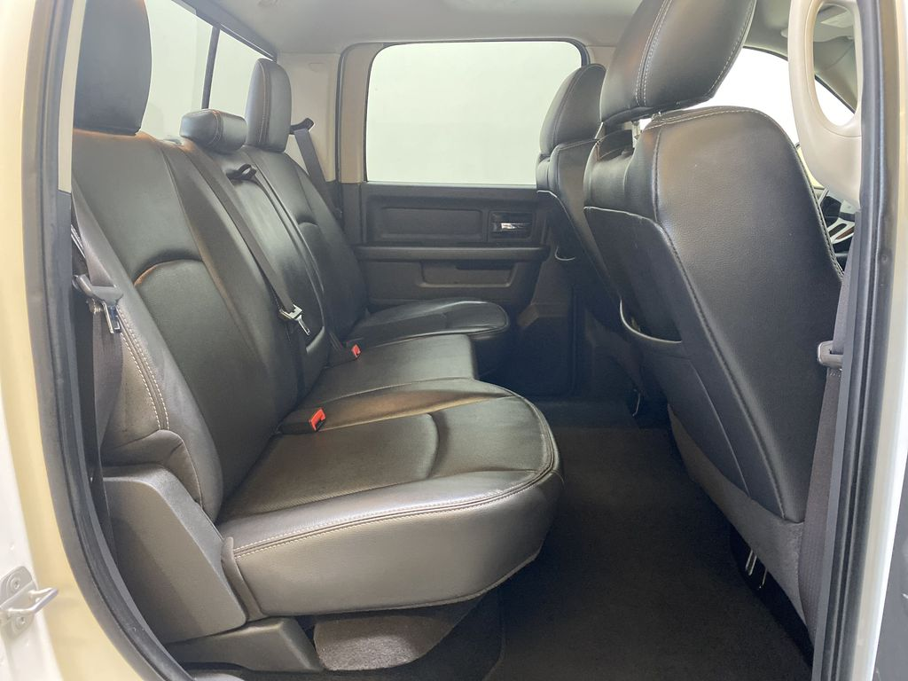 WHTIE 2011 Ram 1500 Sport - Heated/Cooled Font Seats, Power Front Seats Right Side Rear Seat  Photo in Edmonton AB