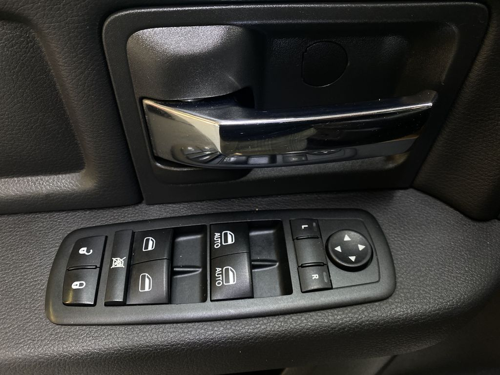 WHTIE 2011 Ram 1500 Sport - Heated/Cooled Font Seats, Power Front Seats  Driver's Side Door Controls Photo in Edmonton AB