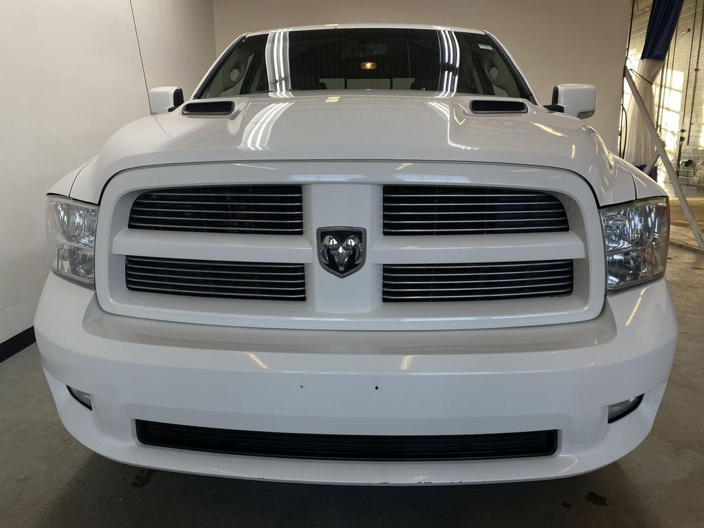 WHTIE 2011 Ram 1500 Sport - Heated/Cooled Font Seats, Power Front Seats Front Vehicle Photo in Edmonton AB
