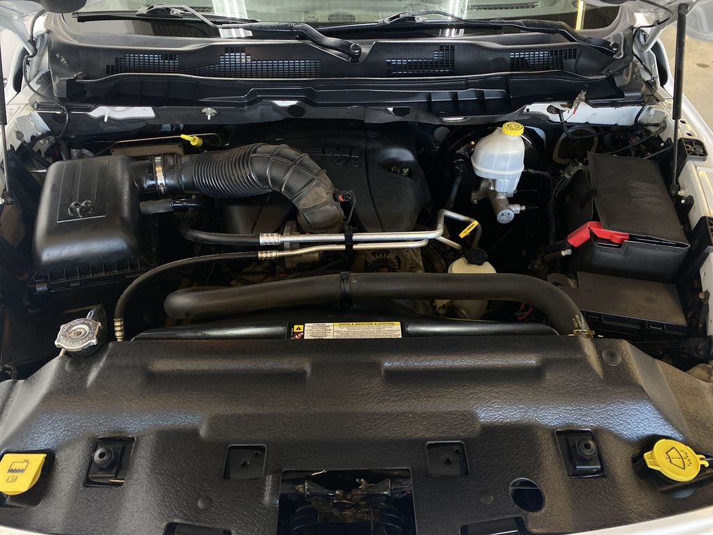 WHTIE 2011 Ram 1500 Sport - Heated/Cooled Font Seats, Power Front Seats Engine Compartment Photo in Edmonton AB