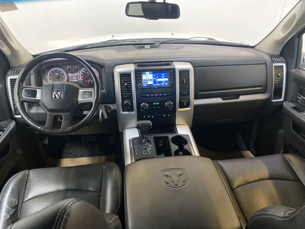 WHTIE 2011 Ram 1500 Sport - Heated/Cooled Font Seats, Power Front Seats Strng Wheel/Dash Photo: Frm Rear in Edmonton AB
