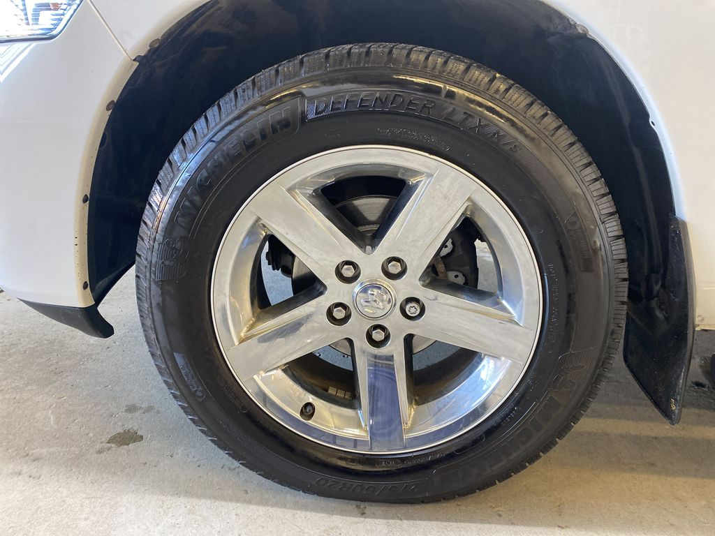 WHTIE 2011 Ram 1500 Sport - Heated/Cooled Font Seats, Power Front Seats Left Front Rim and Tire Photo in Edmonton AB