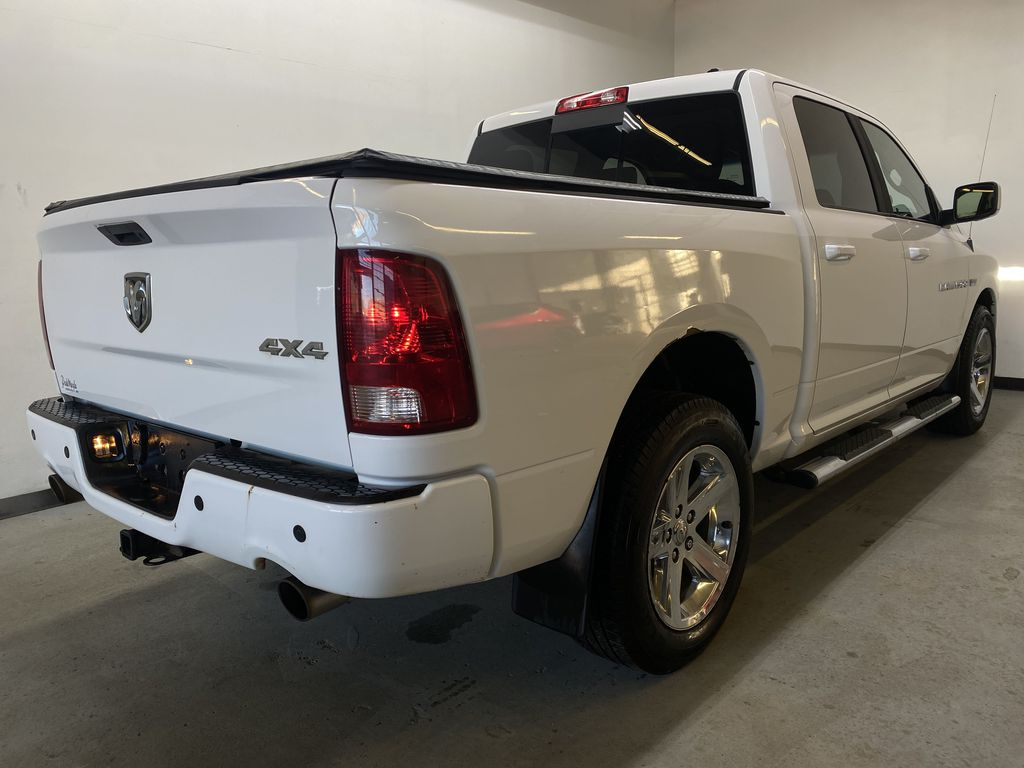 WHTIE 2011 Ram 1500 Sport - Heated/Cooled Font Seats, Power Front Seats Right Rear Corner Photo in Edmonton AB