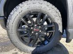Black[Onyx Black] 2021 GMC Sierra 1500 Elevation Left Front Rim and Tire Photo in Calgary AB