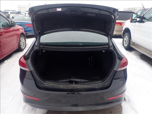 Black 2018 Hyundai Elantra Limited 2.0L Auto *Heated Seats*Fog Lights*Very Low KMs!!* Trunk / Cargo Area Photo in Brandon MB