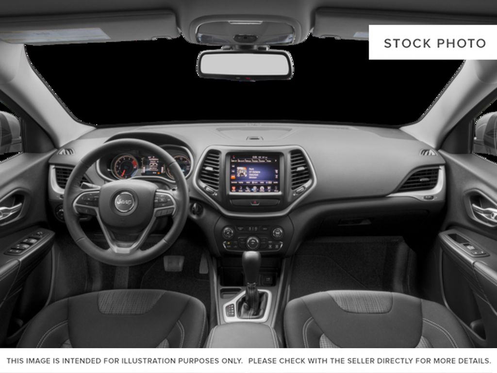 Black[Brilliant Black Crystal Pearl] 2016 Jeep Cherokee Central Dash Options Photo in Edmonton AB