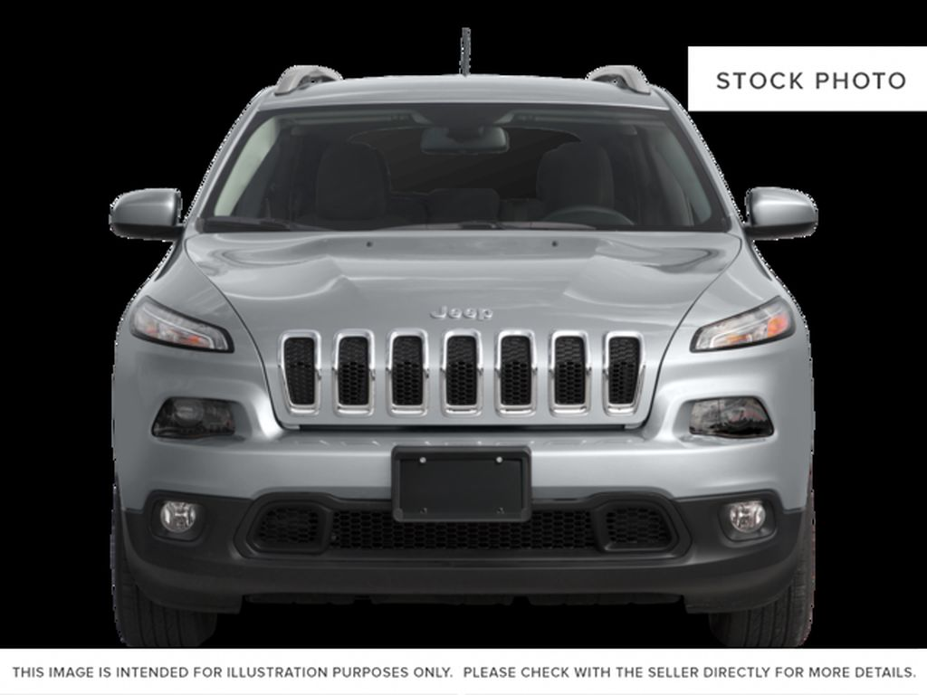 Black[Brilliant Black Crystal Pearl] 2016 Jeep Cherokee Front Vehicle Photo in Edmonton AB