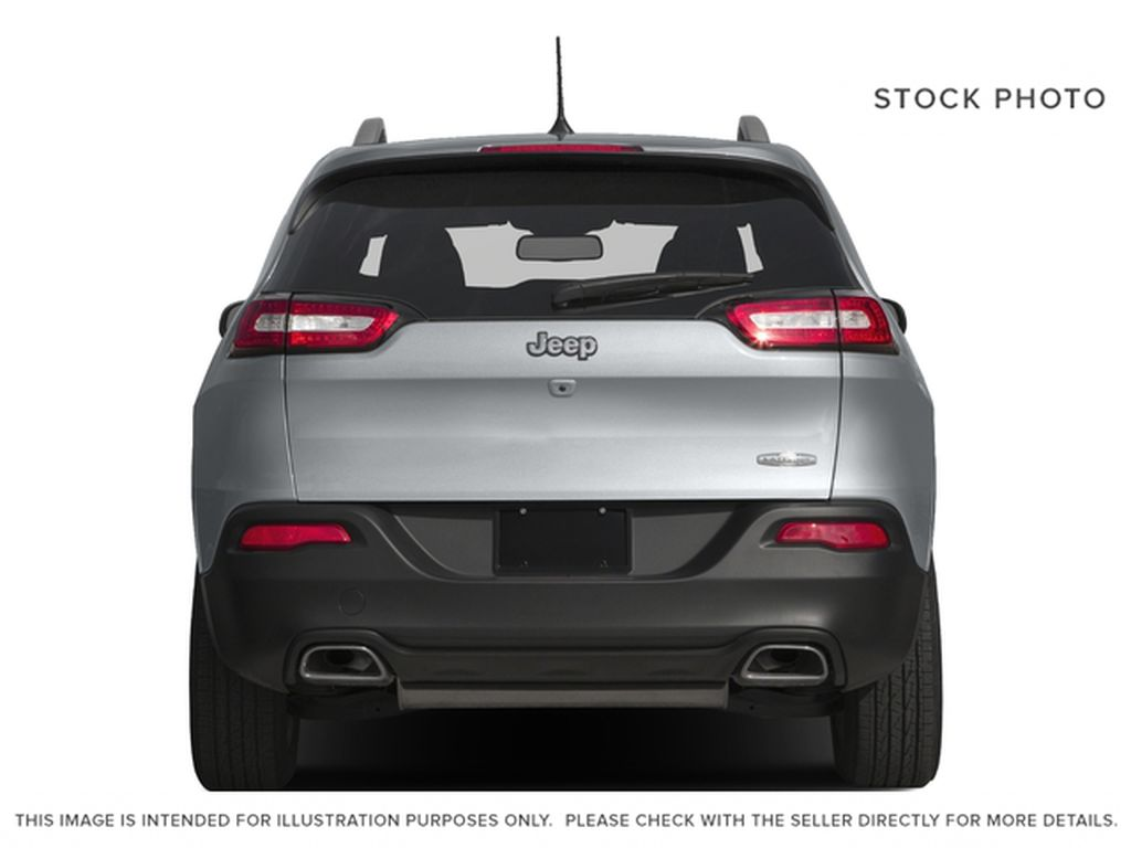 Black[Brilliant Black Crystal Pearl] 2016 Jeep Cherokee Rear of Vehicle Photo in Edmonton AB