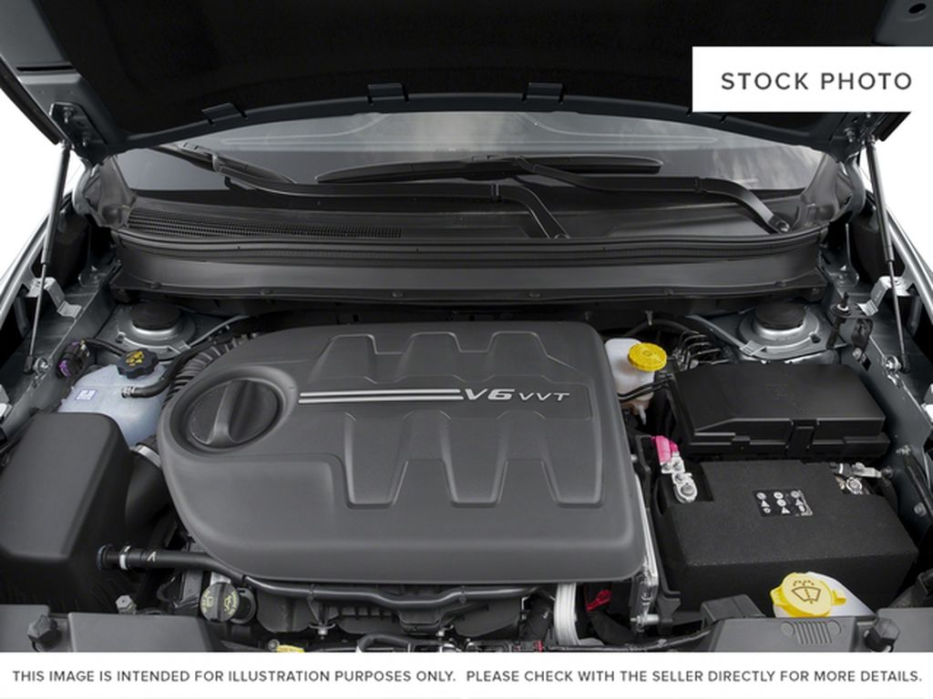Black[Brilliant Black Crystal Pearl] 2016 Jeep Cherokee Engine Compartment Photo in Edmonton AB