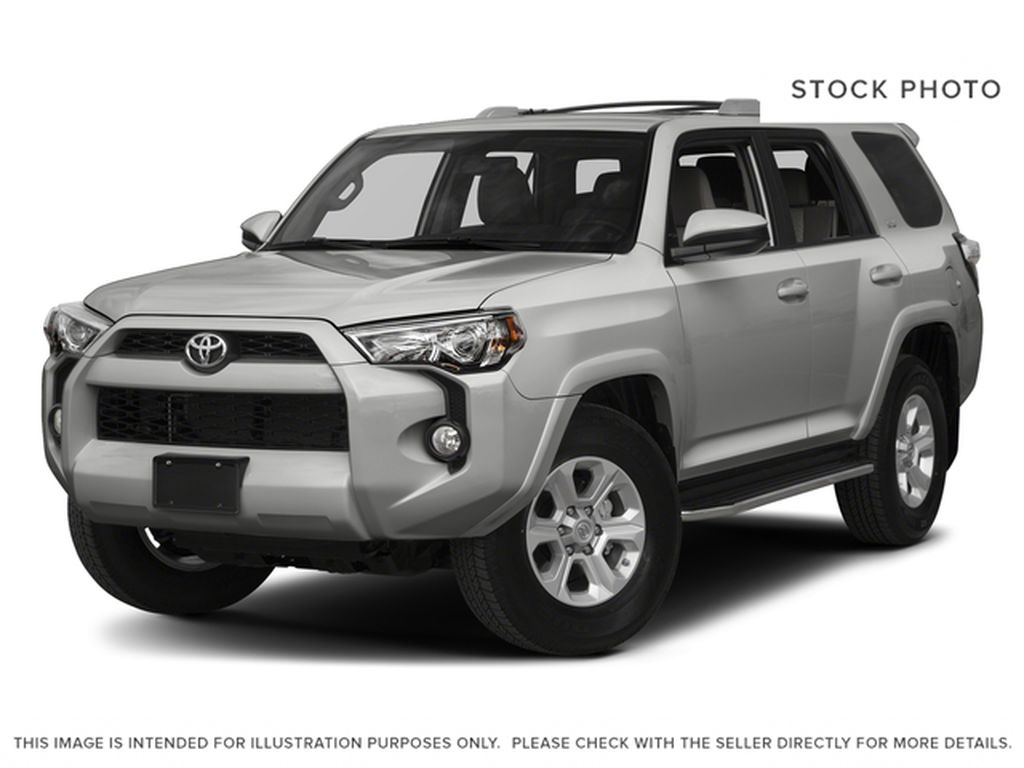 Silver[Classic Silver Metallic] 2017 Toyota 4Runner