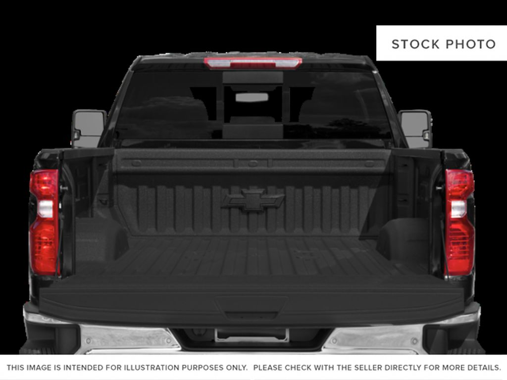 White[Iridescent Pearl Tricoat] 2021 Chevrolet Silverado 3500HD High Country Trunk / Cargo Area Photo in Calgary AB