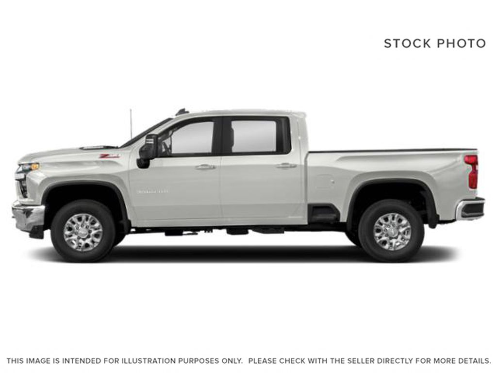 White[Iridescent Pearl Tricoat] 2021 Chevrolet Silverado 3500HD High Country Left Side Photo in Calgary AB