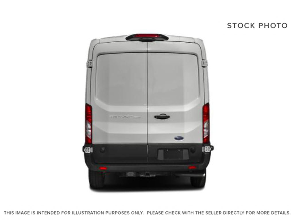 White[Oxford White] 2021 Ford Transit Cargo Van Rear of Vehicle Photo in Dartmouth NS