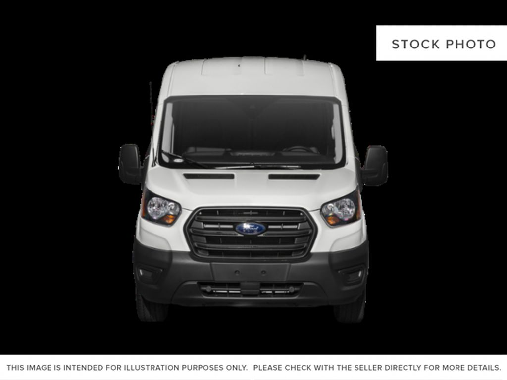White[Oxford White] 2021 Ford Transit Cargo Van Front Vehicle Photo in Dartmouth NS
