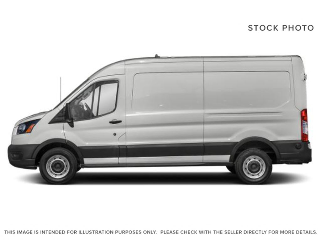 White[Oxford White] 2021 Ford Transit Cargo Van Left Side Photo in Dartmouth NS