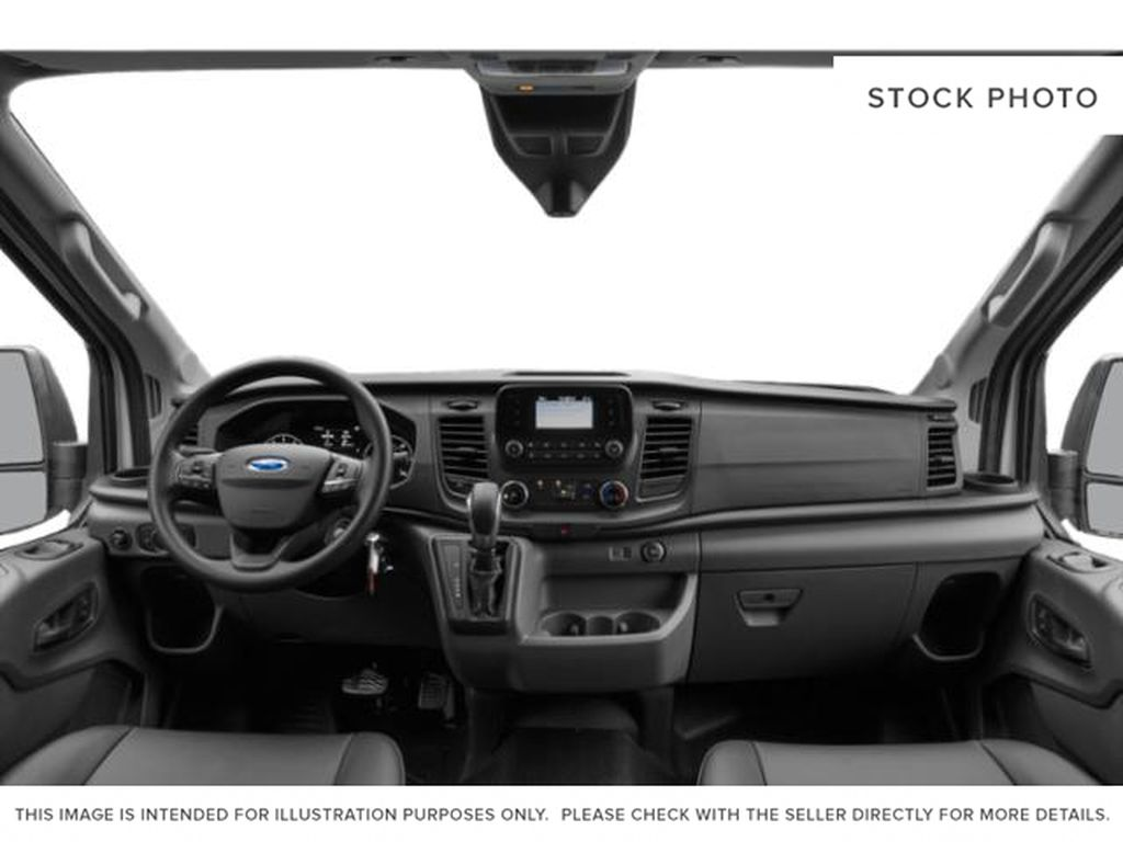 White[Oxford White] 2021 Ford Transit Cargo Van Central Dash Options Photo in Dartmouth NS