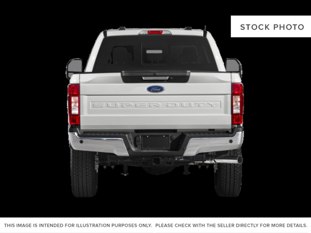 White[Oxford White] 2021 Ford Super Duty F-250 SRW Rear of Vehicle Photo in Dartmouth NS