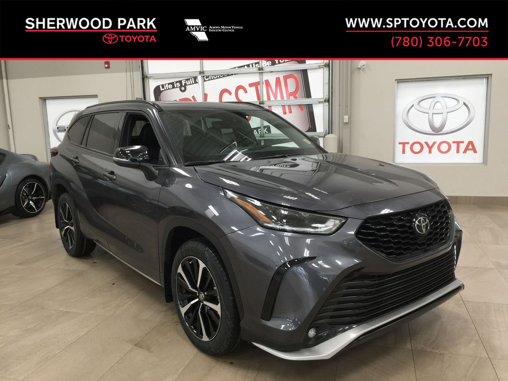 Gray[Magnetic Grey Metallic] 2021 Toyota Highlander XSE