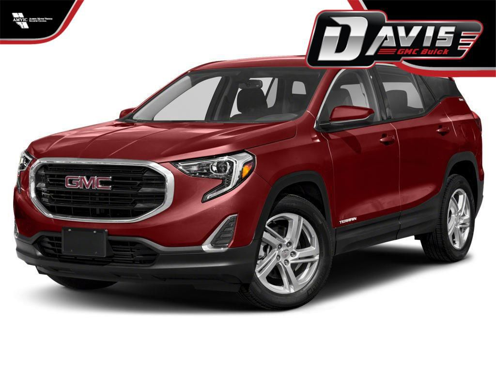 Red 2021 GMC Terrain