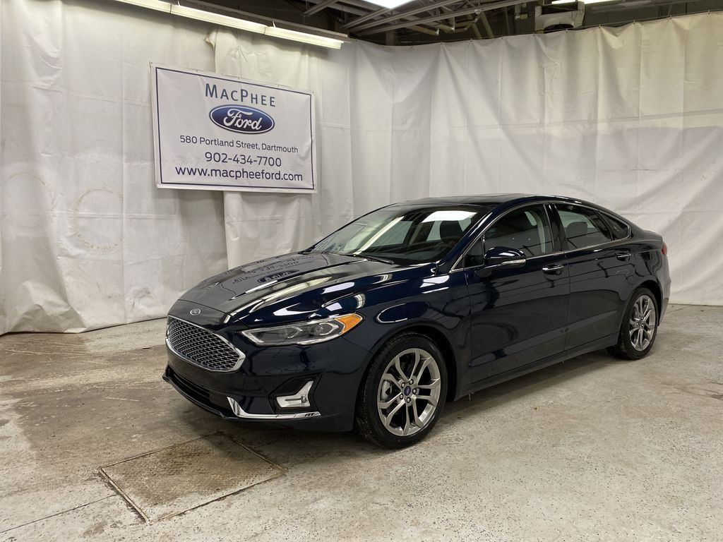 Blue[Alto Blue Metallic Tinted Clearcoat] 2020 Ford Fusion Hybrid
