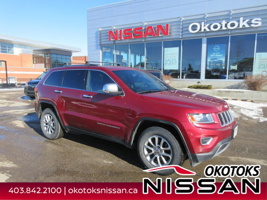 Red[Deep Cherry Red Crystal Pearlcoat] 2014 Jeep Grand Cherokee