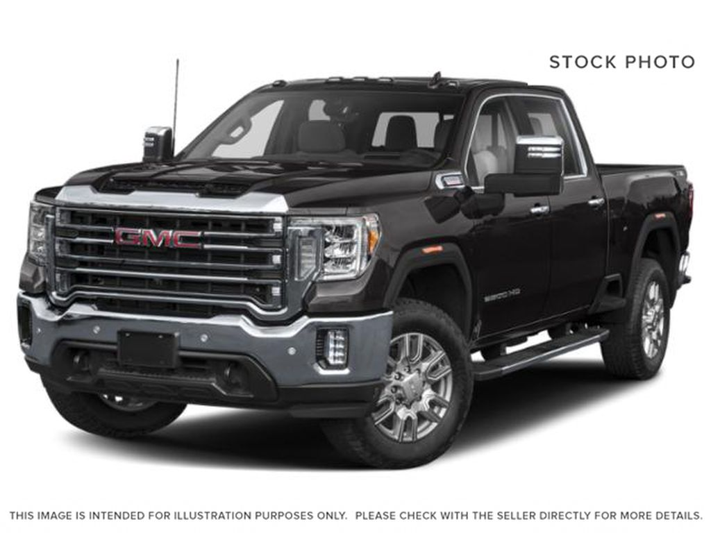 Black[Carbon Black Metallic] 2021 GMC Sierra 3500HD Denali