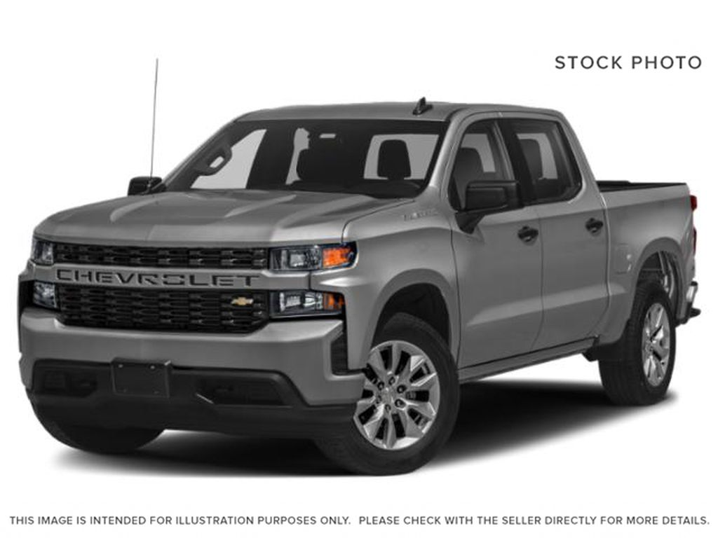 Black[Black] 2021 Chevrolet Silverado 1500 Custom