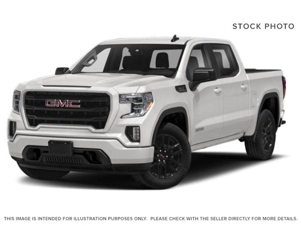 White[Summit White] 2021 GMC Sierra 1500 Elevation