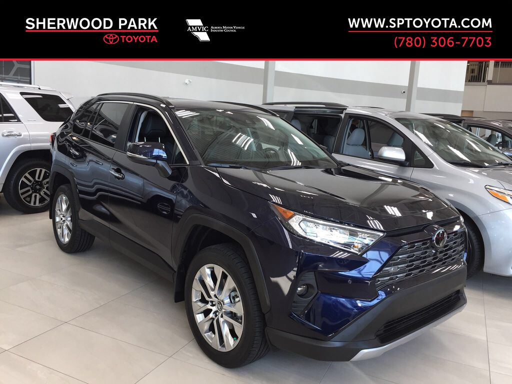 Blue[Blueprint] 2021 Toyota RAV4 Limited