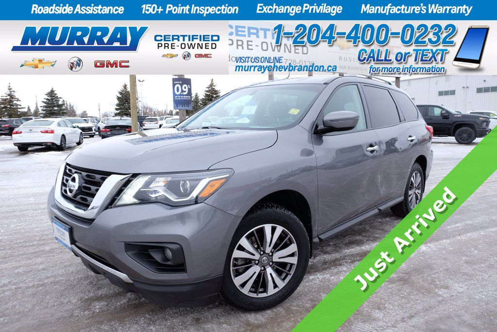 Gray[Gun Metallic] 2017 Nissan Pathfinder