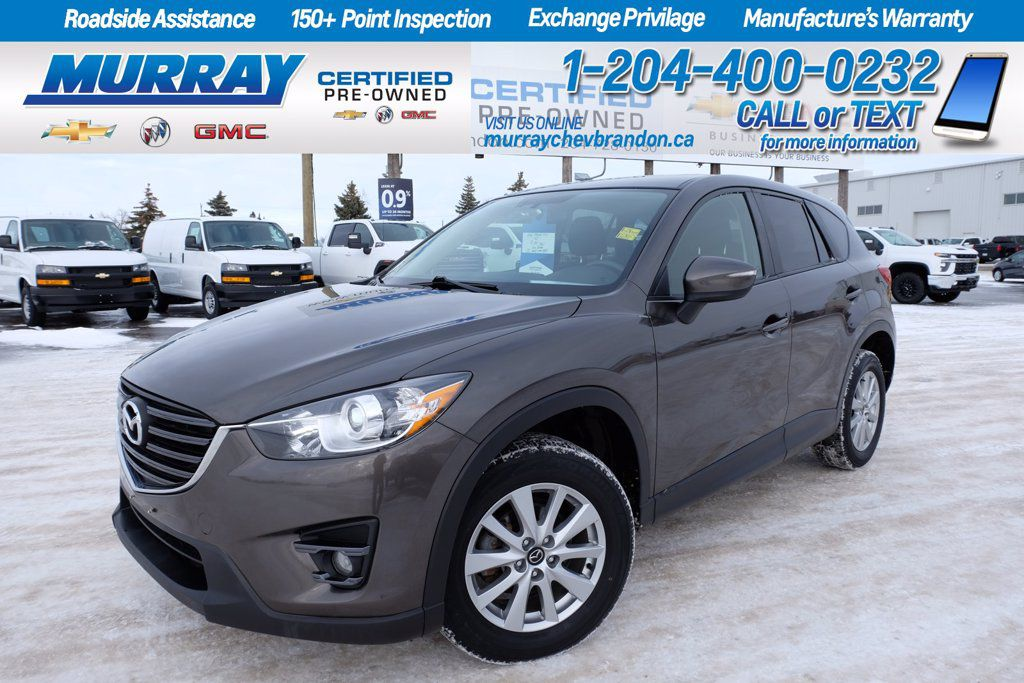 Gray[Meteor Grey Mica] 2016 Mazda CX-5