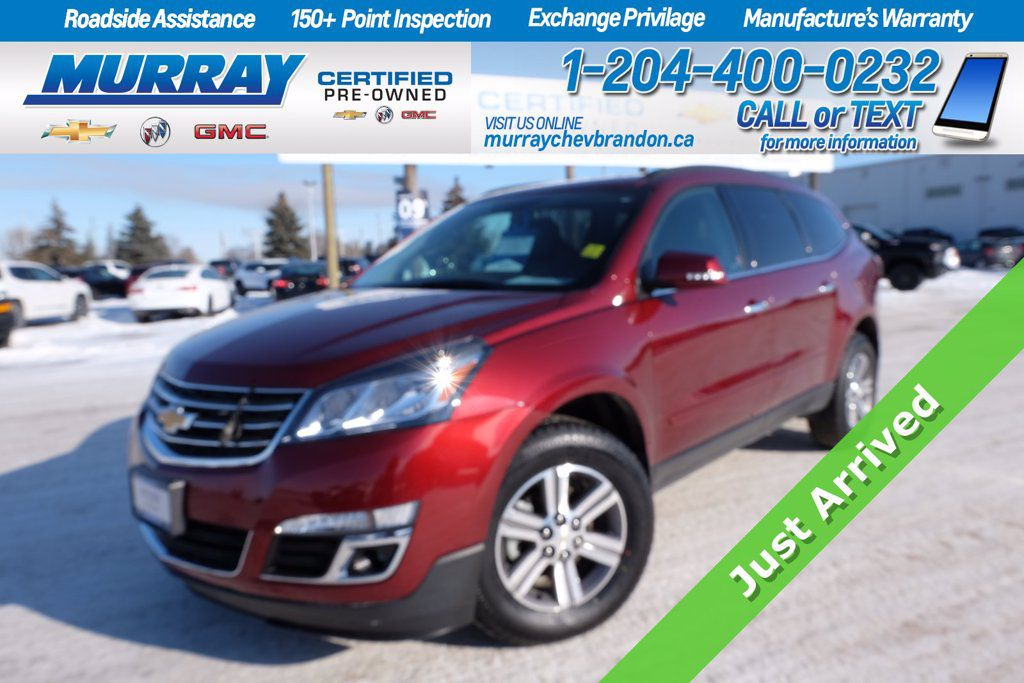 Red[Siren Red Tintcoat] 2017 Chevrolet Traverse