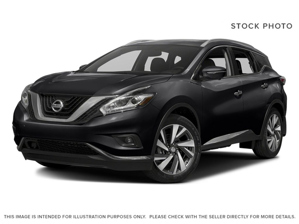 Black[Magnetic Black Metallic] 2017 Nissan Murano