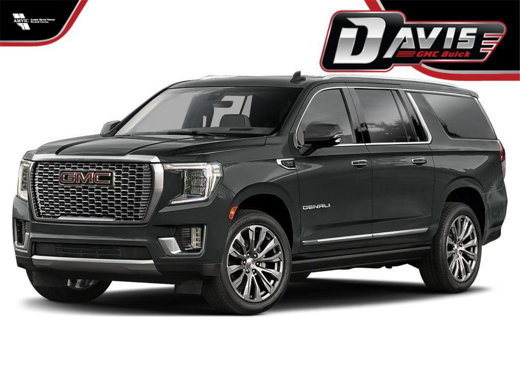 Grey 2021 GMC Yukon XL