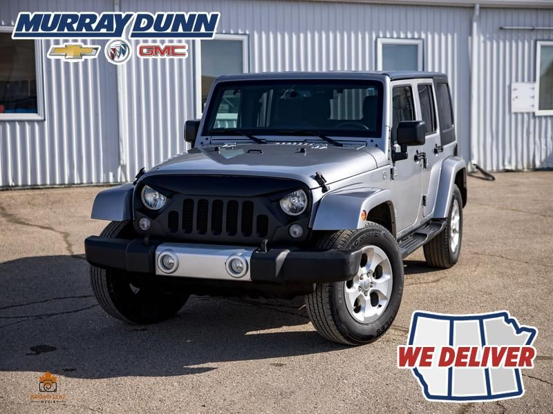 Black[Black] 2015 Jeep Wrangler Unlimited sahara