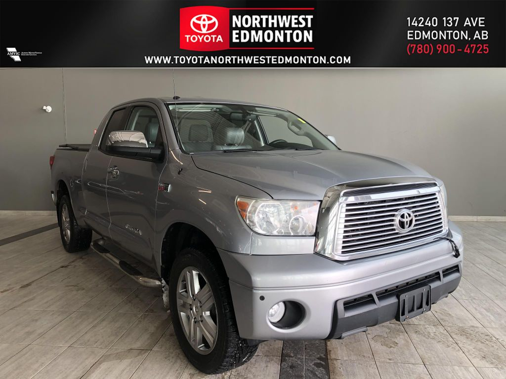 Silver 2011 Toyota Tundra Limited