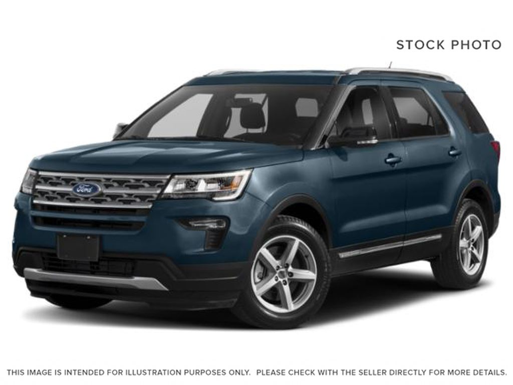 Maroon 2018 Ford Explorer