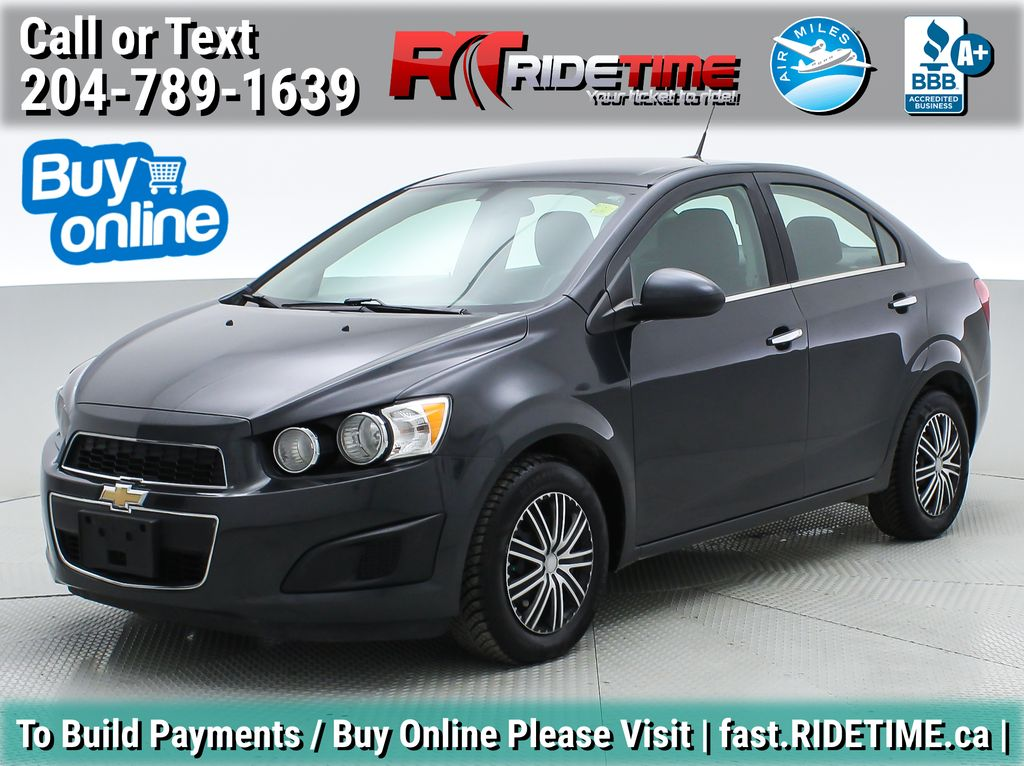 Gray[Ashen Grey Metallic] 2014 Chevrolet Sonic LT - Automatic, Heated Seats, Cruise Control