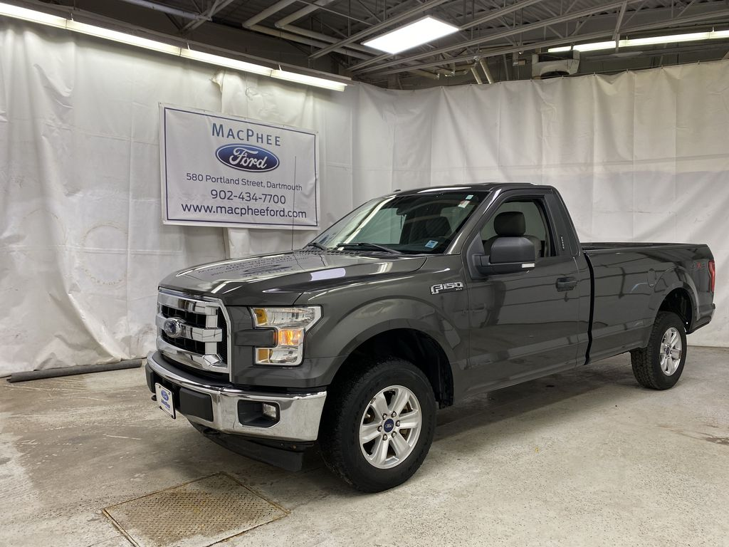 Gray[Magnetic] 2017 Ford F-150