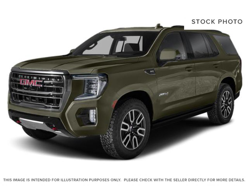 Hunter Metallic 2021 GMC Yukon