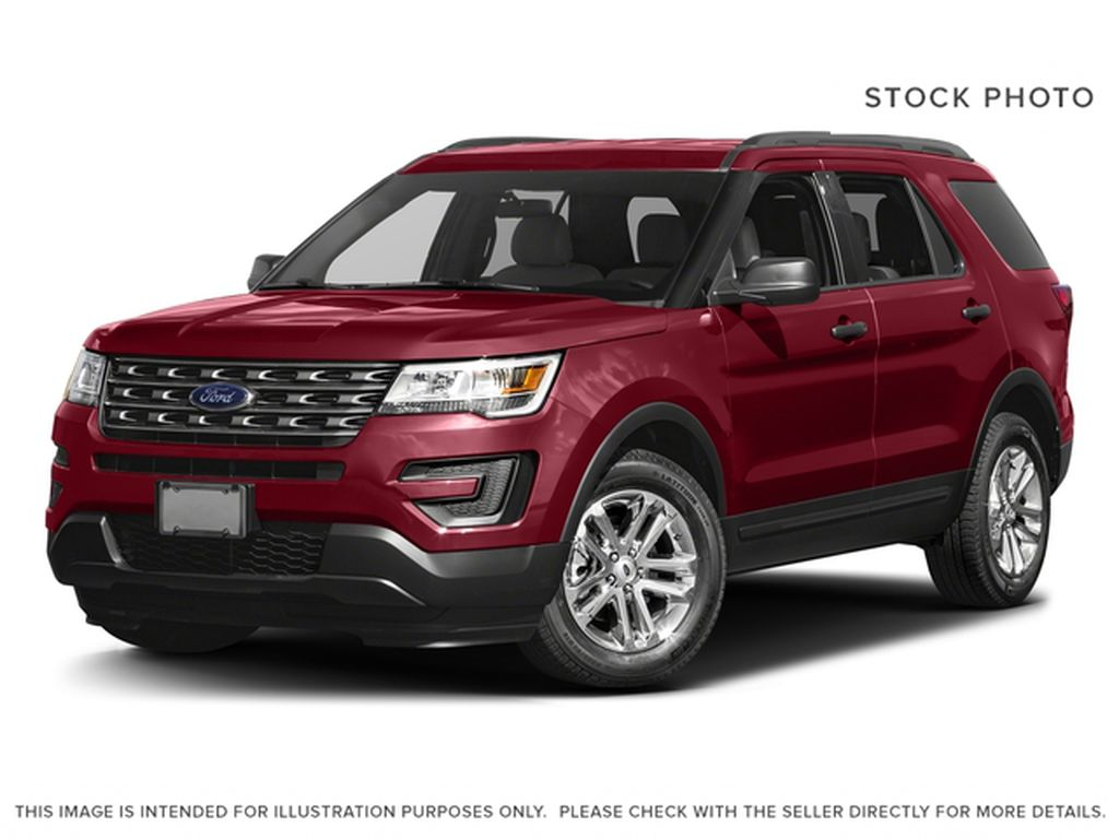 Red[Ruby Red Metallic Tinted Clearcoat] 2017 Ford Explorer Base FWD