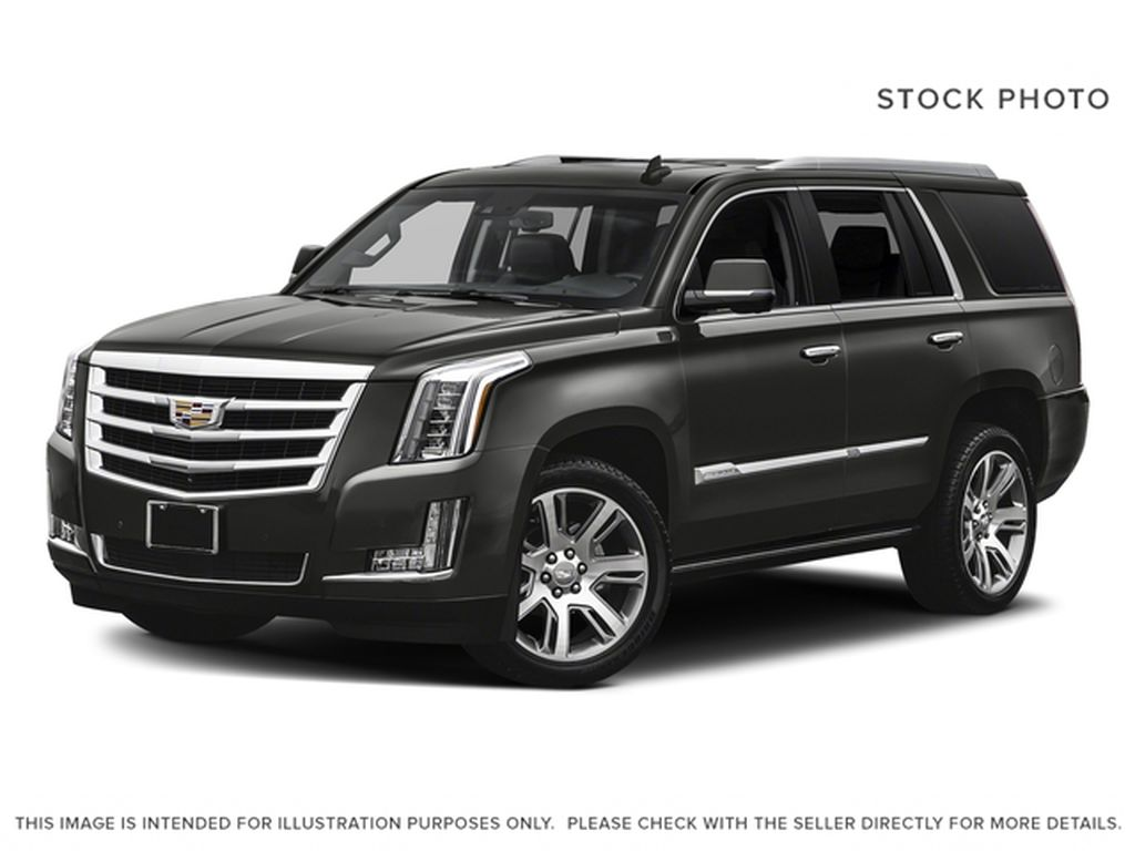 Gray[Dark Granite Metallic] 2018 Cadillac Escalade Premium Luxury